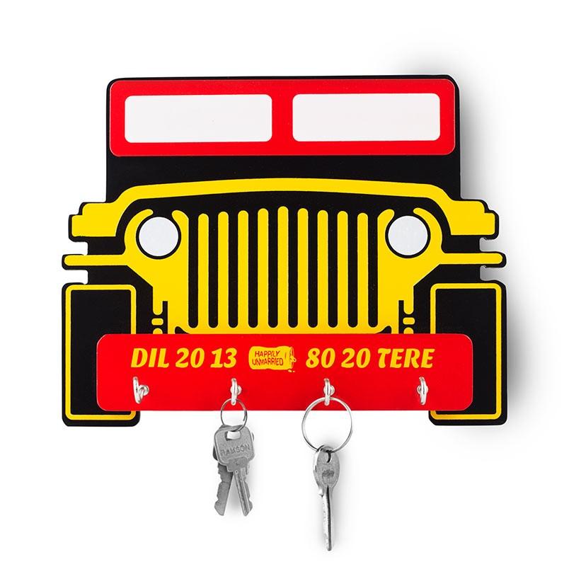 Mitran Di Jeep - Key Holder