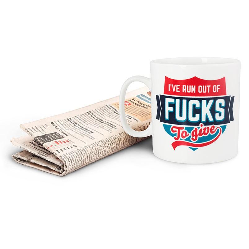 No More Fucks Coffee Mug