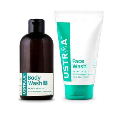 Face Wash and Body Wash for oily skin - Brain Freeze