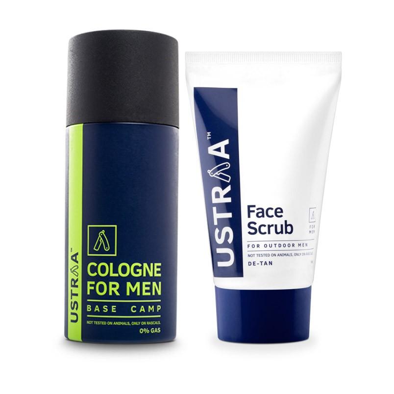 Cologne Spray & Face Scrub