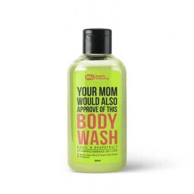 Body Wash - Basil & Grapefruit - 200ml