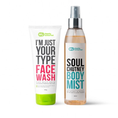 Face Wash - Oily Skin & Body Mist - Soul Chutney