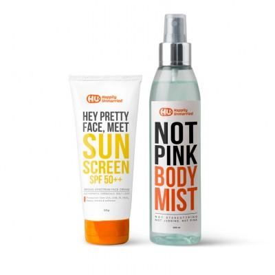 Sunscreen & Body Mist - Not Pink