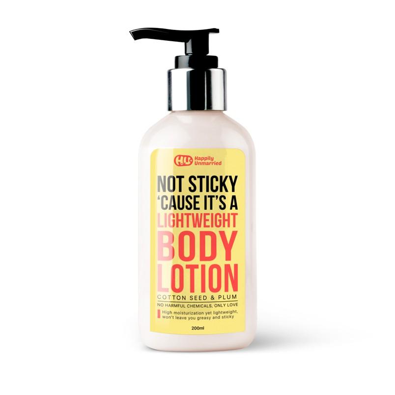 Body lotion - Cottonseed & Plum - 200ml
