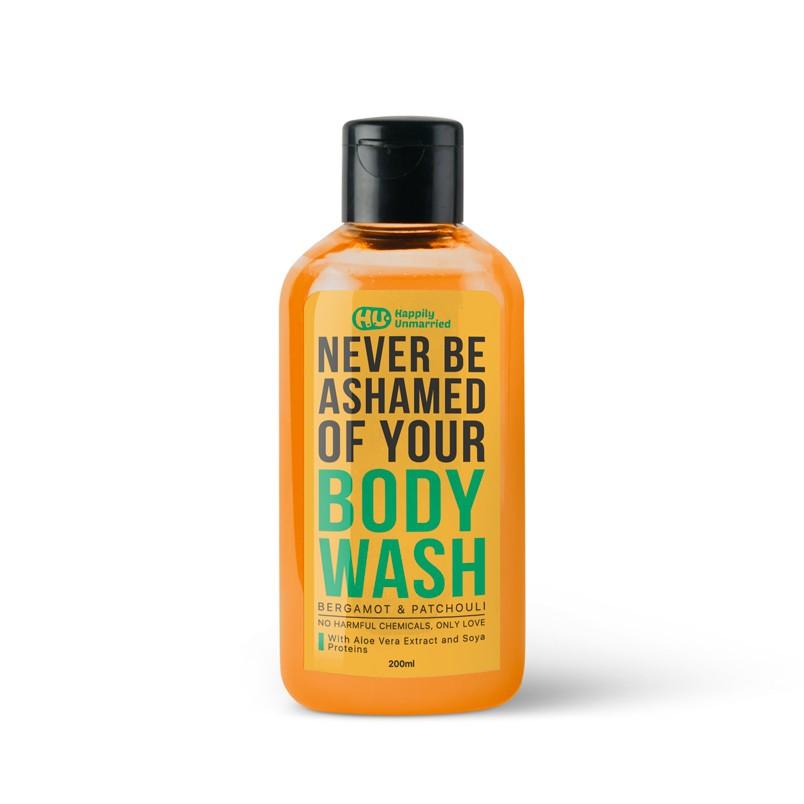 Body Wash - Bergamot & Patchouli - 200ml